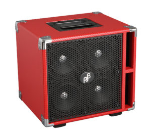 C4 Compact 4 bass cab Carbon RED